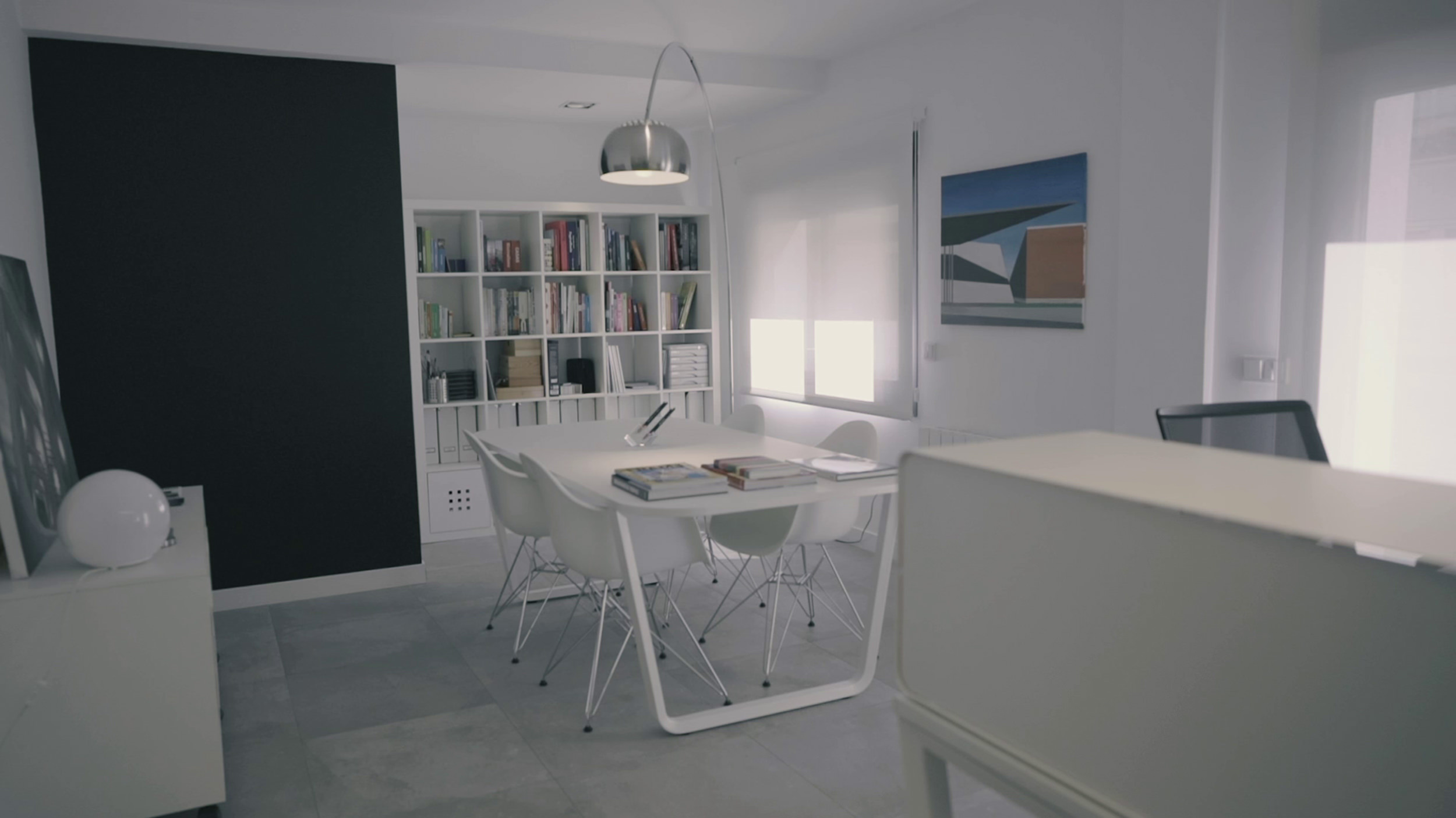 La Sala Holográfica, Diseño integral